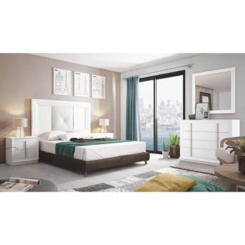 Imagen de Dormitorio Mod.: 856 - BLANCO SP1- Moon