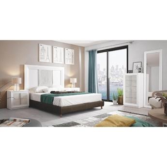 Imagen de Dormitorio Mod.: 859 - BLANCO SP1-POZZOLANA - Moon