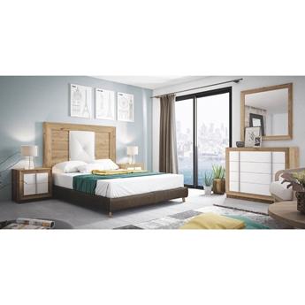 Imagen de Dormitorio Mod.: 863 - SALERMO-BLANCO SP1 - Moon