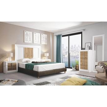 Imagen de Dormitorio Mod.: 864 - BLANCO SP1-SALERMO - Moon