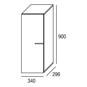 Imagen de Alto 90 cms. vertical