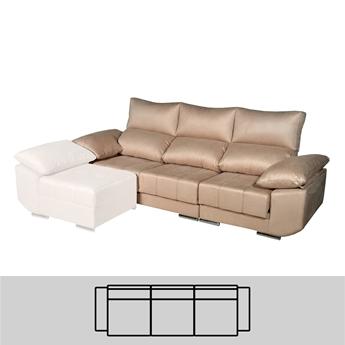 Imagen de Sofá 3 Plazas (3 Asientos) 280 - Mod. VIGO